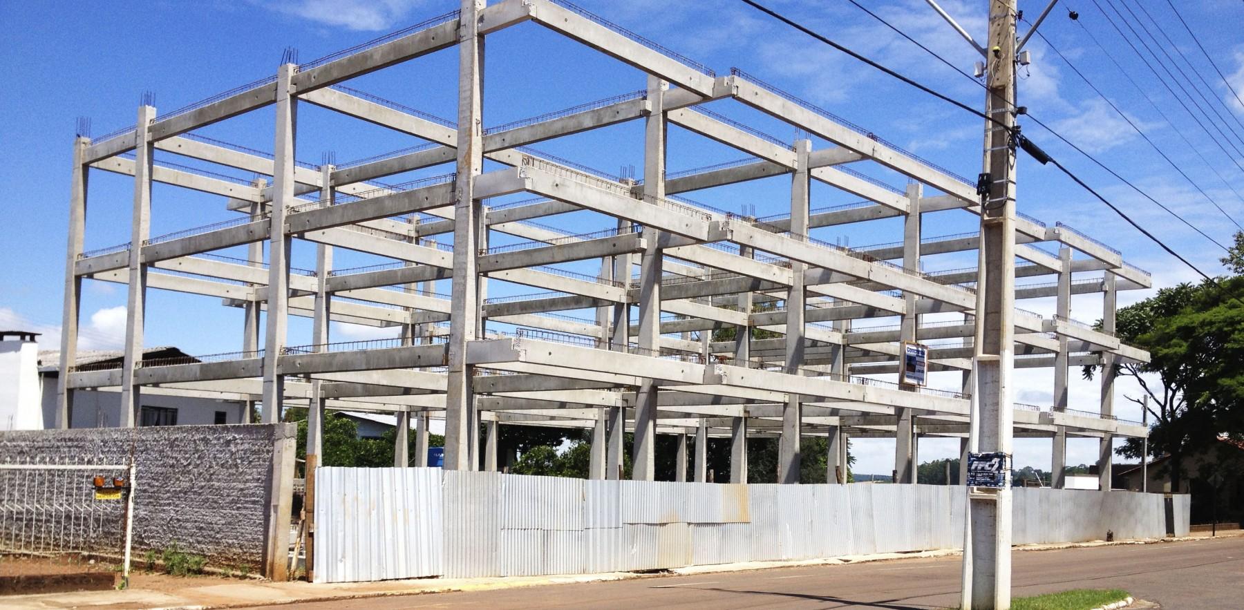 Estrutura edifícios
